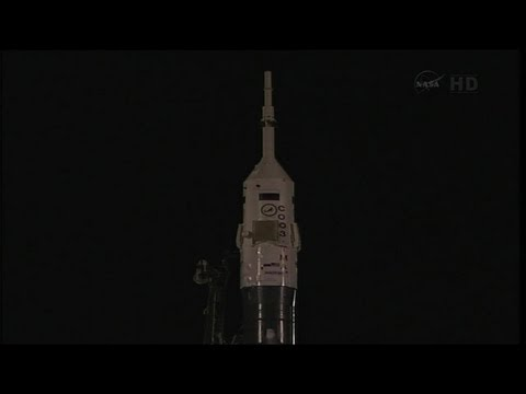 ISS Expedition 36 Soyuz TMA-09M Launch Take Off