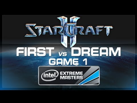 First vs Dream - Game 1 - Grand Final - SC2 IEM Katowice