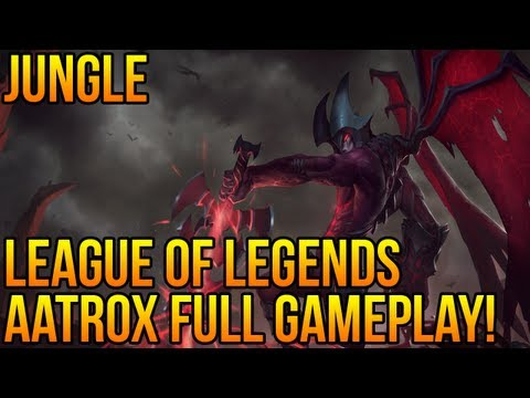 League of Legends - Aatrox FULL Game Jungle Gameplay