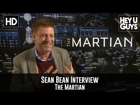 Exclusive: Sean Bean Interview - The Martian