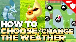 How to CHOOSE / Change the Weather in Pokemon Sword and Shield (Also Fog, Sandstorm & Hail)