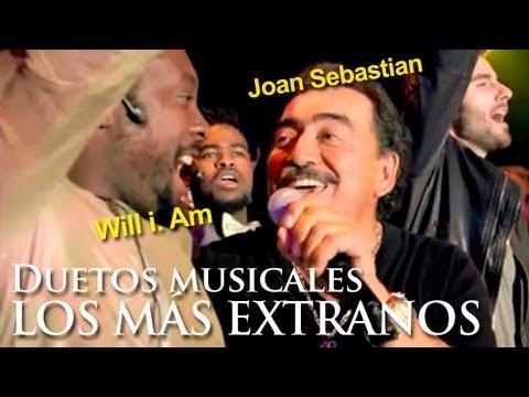 Los duetos musicales MÁS EXTRAÑOS (weirdest musical duets)