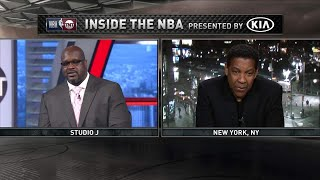 Inside the NBA: Denzel Washington Joins To Talk Sports and Equalizer 2