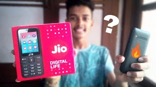 Jiophone unboxing & review | my 1st unboxing video!!🔥🔥