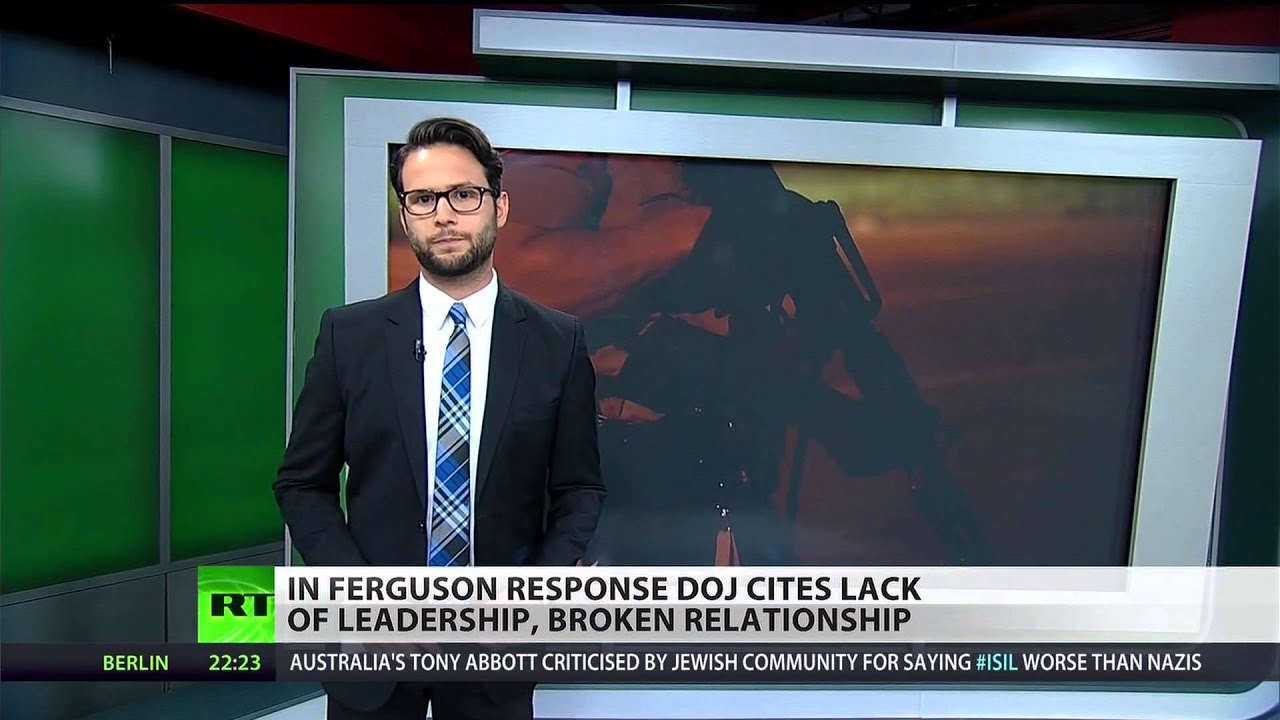 DOJ reviews police response to Ferguson protests