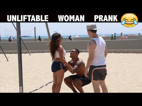 Unliftable Girl PRANK