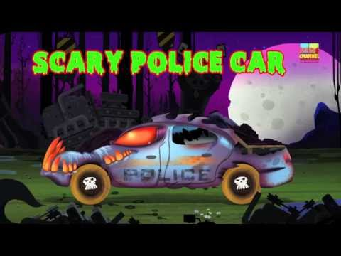 Scary Street Vehicles | Learn Vehicles | Scary Video for Kids & Toddlers