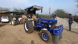 Farmtrack 60 t20 tractor modified by owner at home
