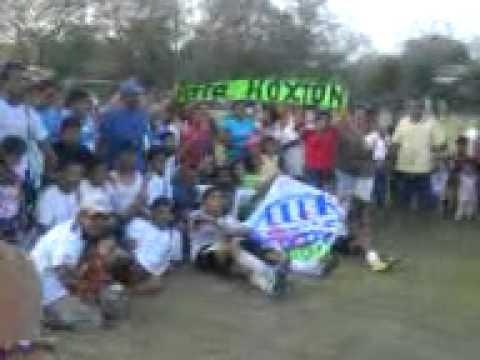 tiburones del hoxton ver mpio del  higo ver.. campeon  (liga el hule)