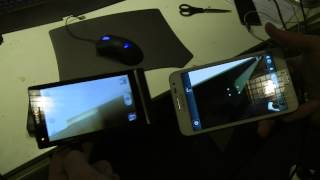 Sony Xperia S vs. Samsung Galaxy Note User Experience Camera App