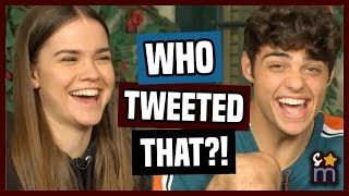 THE FOSTERS Cast Plays WHO TWEETED THAT?!? | Shine On Media Interview