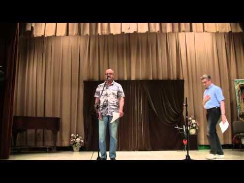 Дуэт двух классных поэтов - Алексей Березин, Александр Габриэль. Вечер юмора