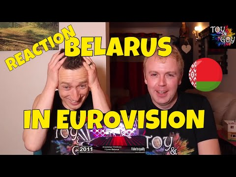 EUROVISION BELARUS ALL SONGS REACTION