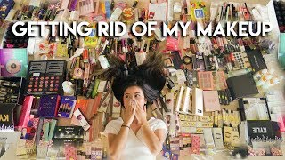 HUGE Makeup Collection Decluttering (Indonesia)