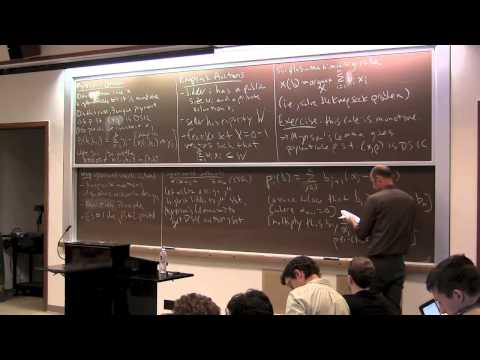 Algorithmic Game Theory, Lecture 4 (Algorithmic Mechanism Design)