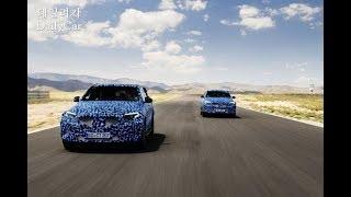 벤츠, SUV 전기차 'EQC' 주행 테스트..내년 출시 계획