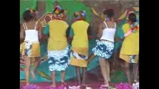 """South Sea Island"" girls dance ""Pate Pate"" in Queensland, Australia"