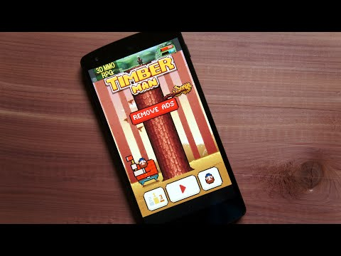 Best Android Games: Timberman