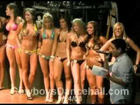 bikini contest cowboy