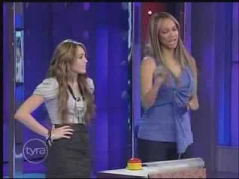 Miley Cyrus Interview At Tyra Banks Show 4/10/09 Part 3/6 HQ