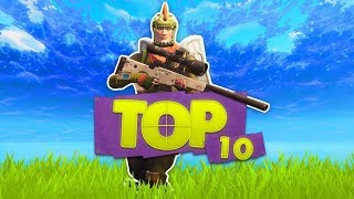 DE TOP 10 MEEST EPISCHE SNIPER KILLS!! - Fortnite Battle Royale Top 10 (Nederlands)