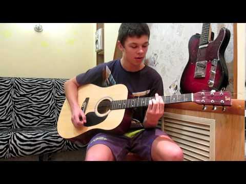 Sting - Shape of my heart (видео урок на гитаре)