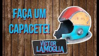 COMO FAZER UM CAPACETE DE COSPLAY! (DIY) - Victor Lamoglia