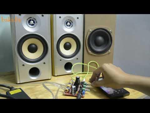 First test - TPA3116D2 2.1 channel Amplifier (2X50W + 100W) #2 thumbnail