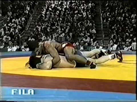 Ahmad Al-Osta (SYR) vs Arsen Fadzaev (UZB), 1996 Olympic Games