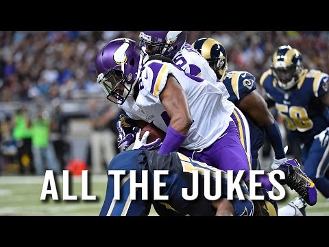 Vikings WR Cordarrelle Patterson put in at RB, jukes the HELL out of Rams for TD
