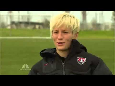 "Megan Rapinoe and Out Magazine Featured on ""NBC Nightly News With Brian Williams"""