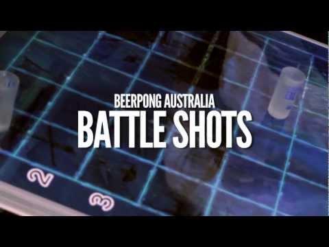 Battle shots Beer Pong