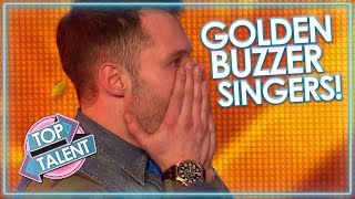 GOLDEN BUZZER SINGERS Around The World! | Top Talent