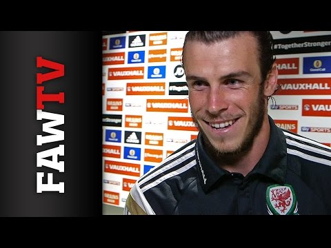 Gareth Bale's Belgium Reaction