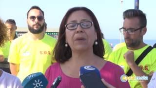 La bandera azul ya ondea en Punta Umbría