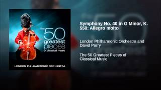 Symphony No. 40 in G Minor, K. 550: Allegro molto