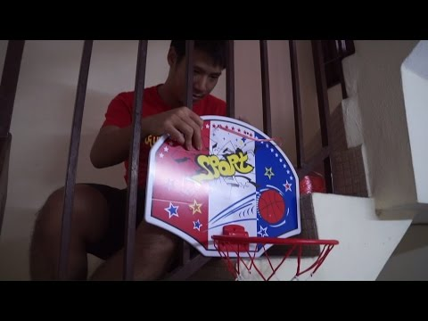 我家室内篮球场!!! INDOOR BASKETBALL AT HOME