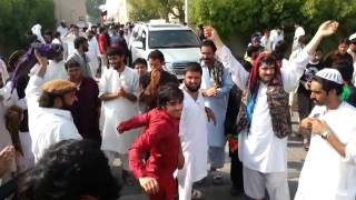 Afghanistan cricket fans celebration in Sharjah