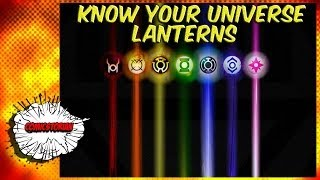 All Lantern Corp Explained! - Know Your Universe!