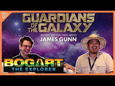 BOGART THE EXPLORER MEETS JAMES GUNN (Marvel's Guardians of the Galaxy)