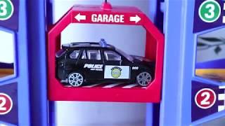 Car Toys - Police cars, tow trucks, fire trucks - Vehicles and Trucks