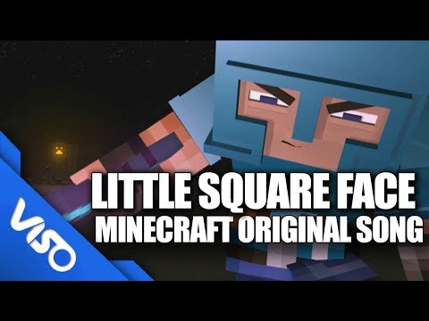 Little Square Face - Original Minecraft Song (Minecraft Animation) klip izle