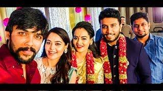 Aarav, Bindhu Madhavi attends Actress Suja Varunee Wedding | Bigg Boss Tamil Contestants