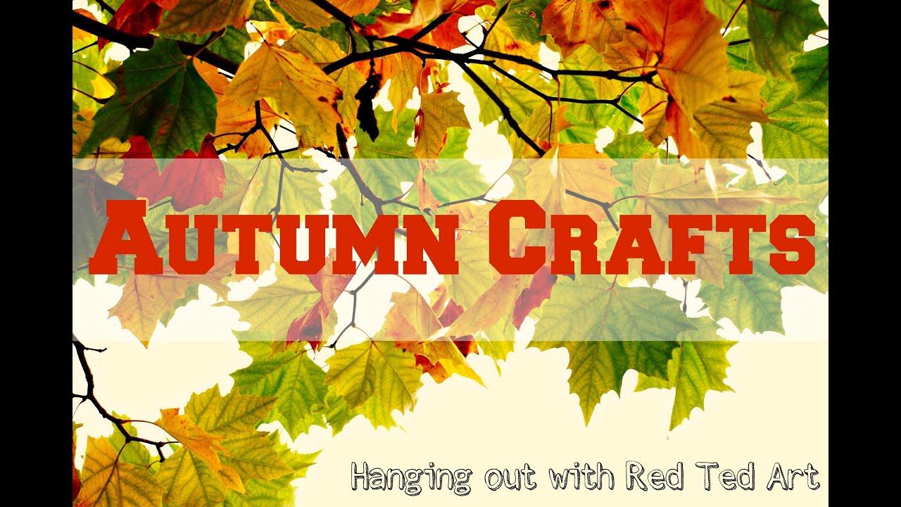 Kindergarten Fall Arts And Crafts