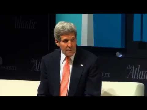 Secretary Kerry Participates in a Discussion at the Sixth Annual Washington Ideas Forum