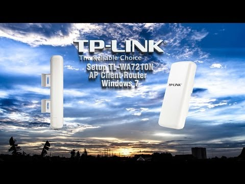 Setting TP-Link TL-WA7210N Windows 7 - Wireless Access Point Review