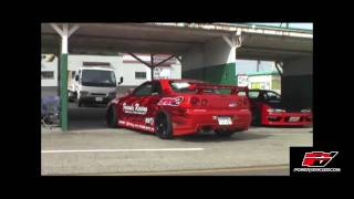 Friends Racings BNR34 GTR Testing at Ebisu