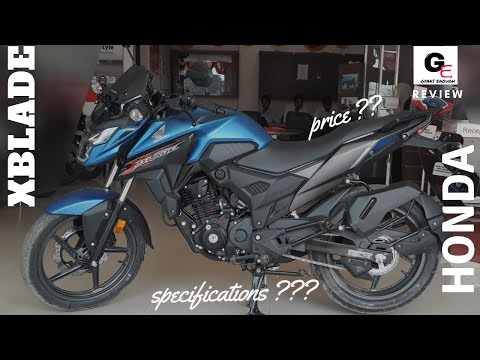 Honda XBlade 160 | most detailed review | actual showroom look !!!!