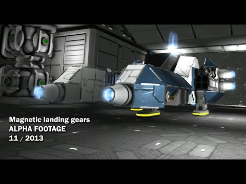 Space Engineers - Magnetic Landing Gears
