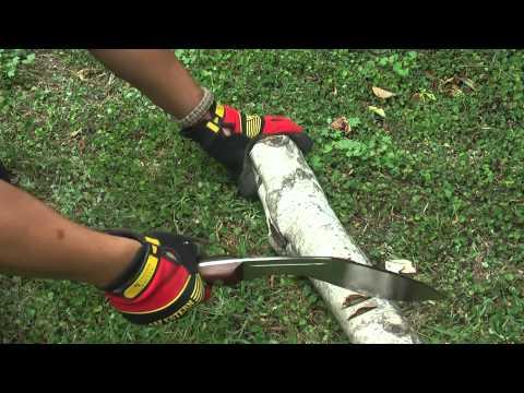 Gurkha Kukri Chopping Test (1080p HD)